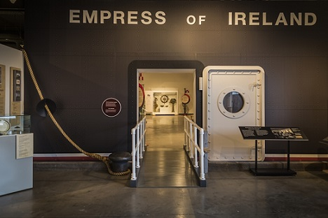 Telling The Empress Of Ireland Story Maritime Museum Of