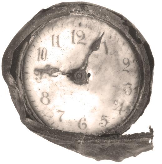 Explosion Clock