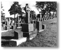 Titanic gravesite in Fairview Lawn Cemetery