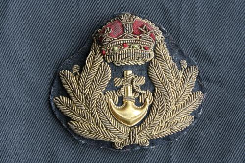 William Parker Titanic cap badge