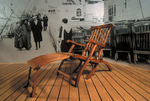 titanic deck chairs 1