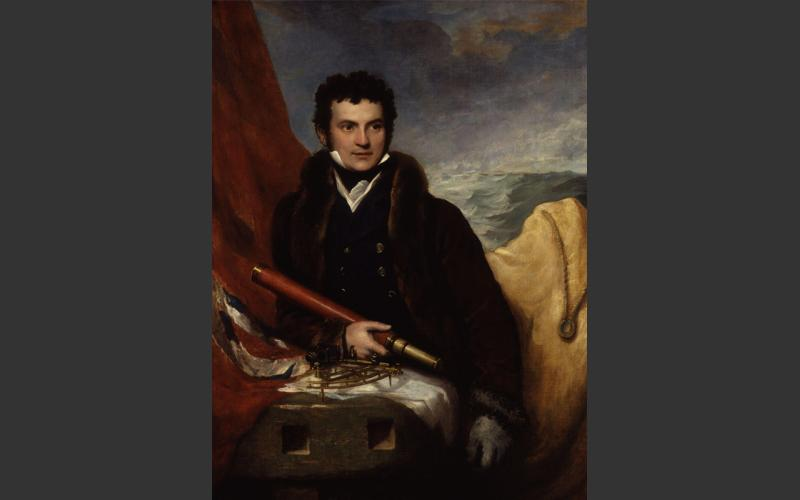 William Edward Parry, Halifax-based naval officer who nearly transited the Northwest Passage in 1819