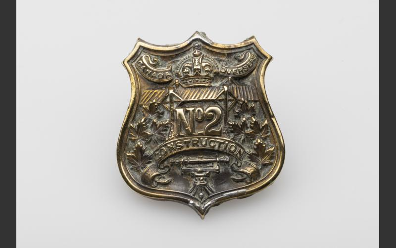 No 2 Battalion badge (The Army Museum, Halifax Citadel) Dr. Clement Ligoure recruited nationwide for the No. 2 Construction Battalion, a unit comprising volunteers of African descent.