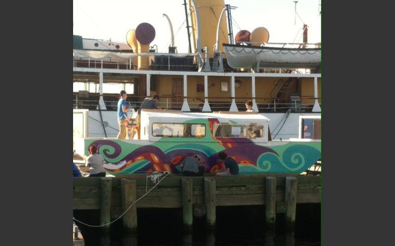 HFX Art Boat from June 21 painting session