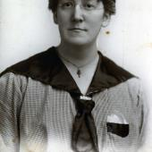 Georgina Miner (courtesy of Georgie Engelleder) Wolfville nurse Georgina Curry Miner was aboard one of the earliest trains to enter the city in the blast's immediate aftermath.